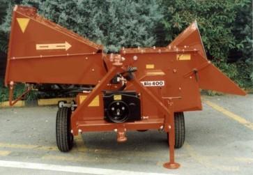 CIPPATRICE mod. BIO 400 - Produzione 10 m³/h - diam. cippabile 14 cm.