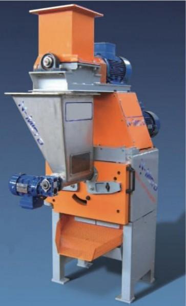 MACCHINA PER PELLET / PELLETTIZZATRICE mod. N-MICRO/A (Produzione 45-110 Kg/h) con QUADRO ELETTRICO CON PLC