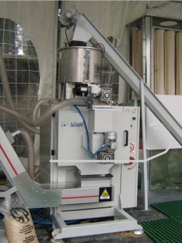 MACCHINA PER PELLET / PELLETTIZZATRICE mod. N-MIDI-C CE - Con inverter motore trafila (prod. 700/900 kg/ora)