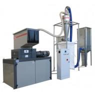 Trituratori serie Combi: Modello 60/80S - GR 500, Produzione 350-500 Kg/h