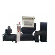 COMPATTATORE DI EPS (POLISTIROLO) Modello CP370, Produzione 150-200 Kg/h, Norme CE.