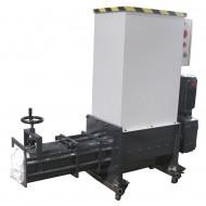 COMPATTATORE DI EPS (POLISTIROLO) Modello SP130, Produzione 15-20 Kg/h, Norme CE.